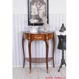 Barokní konzolový stolek