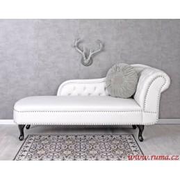 Klasická lenoška v bílé barvě