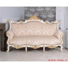 Luxusní pohovka v měkké...