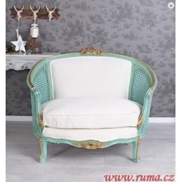 Křeslo v luxusní Rokoko stylu