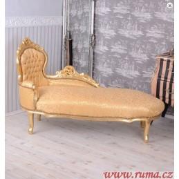 Luxusní lenoška v zlaté barvě