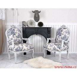Židle  s područkami v...