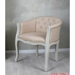 Moderní židle v béžové barvě