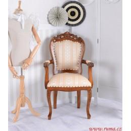 Elegantní dřevěné židle