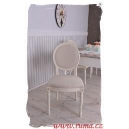 Židle v béžové barvě
