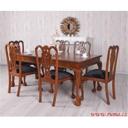 Jídelní set stůl a šest židle
