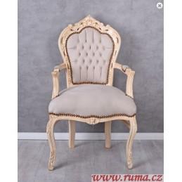 Židle v retro stylu