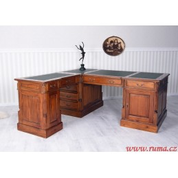 Rohový pracovní stůl