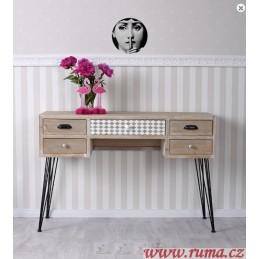 Odkládací stolek v retro stylu