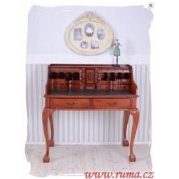Dřevěný psací stůl v...