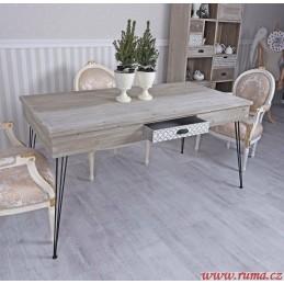 Jídelní stůl v retro stylu