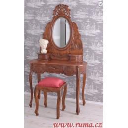 Dřevěný luxusní toaletní...