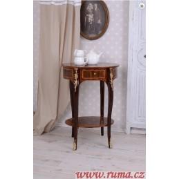 Malý kulatý odkládací stolek