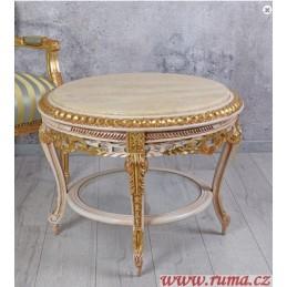 Kulatý konferenční stolek