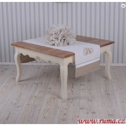 Rustikální konferenční stolek
