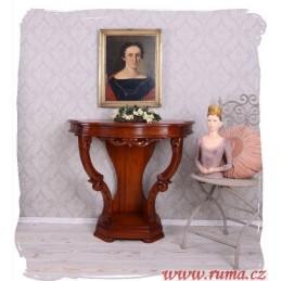 Dřevěný odkládací stolek