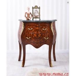 Luxusní barokní komoda