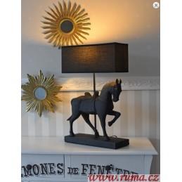 Stolní lampa Kůň
