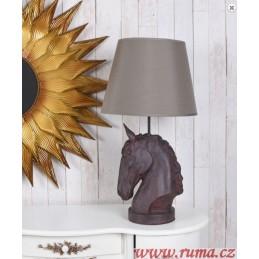 Stolní  lampa Koňská hlava