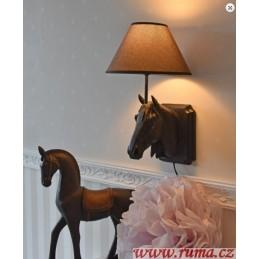 Nástěnná lampa Koňská hlava