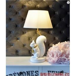 Stolní  lampa Veverka