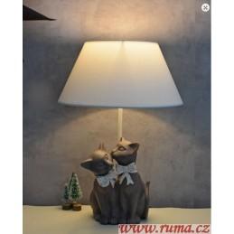 Stolní  lampa kočičky