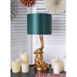 Stolní  lampa Slon a ptáček