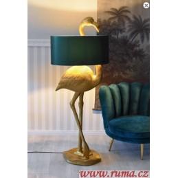 Designová lampa Plameňák