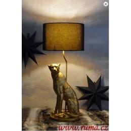 Stolní lampa Leopard