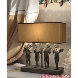 Stolní  lampa Andělé