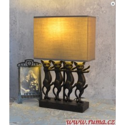 Stolní lampa Čtyři kočky