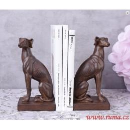 Zarážka na knihy Dva psi