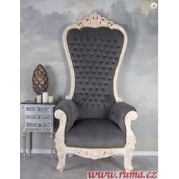 Luxusní královské křeslo v...
