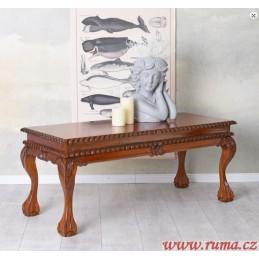 Dřevený konferenční stolek