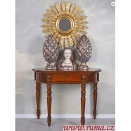 Dřevený konzolový stolek