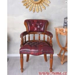 Stylová dřevěná židle v...