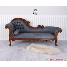 Luxusní pohovka v šedé barvě