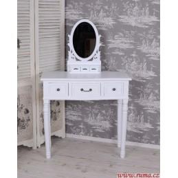 Romantický toaletní stolek